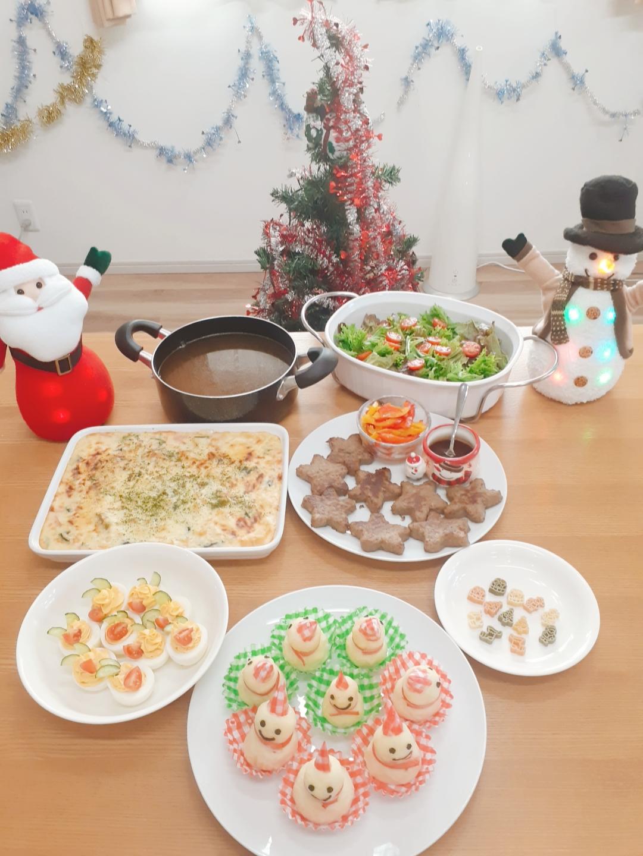 クリスマスランチ①